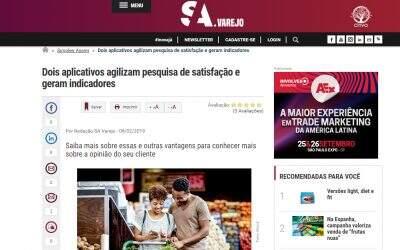 OPINAÊ é destaque em matéria da SA Varejo